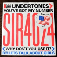 Discos de vinilo: THE UNDERTONES - YOU´VE GOT MY NUMBER - SIRE 1979 - UK - EX-. Lote 267862009