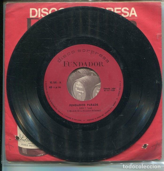 MARCAS COMERCIALES - FUNDADOR 10.168 (FUNDADOR PARADE) (Música - Discos de Vinilo - EPs - Solistas Españoles de los 70 a la actualidad)