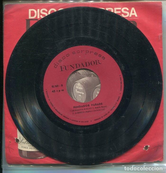 Discos de vinilo: MARCAS COMERCIALES - FUNDADOR 10.168 (FUNDADOR PARADE) - Foto 2 - 287570193