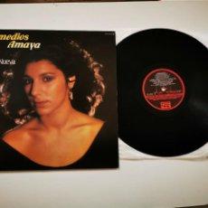 Discos de vinilo: REMEDIOS AMAYA LUNA NUEVA LP VINILO DEL AÑO 1983 QUIEN MANEJA MI BARCA EUROVISION ESPAÑA 1983. Lote 229093195