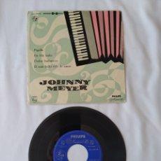 Discos de vinilo: JOHNNY MEYER,PIGALLE EP. Lote 267879979
