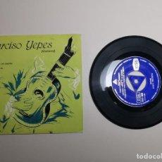 Discos de vinilo: NARCISO YEPES / LEYENDA / RUMORES DE LA CALETA / ALBORADA. Lote 267881304