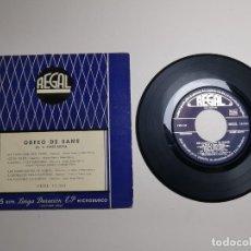 Discos de vinilo: ORFEO DE SANS-NADALES -EL TUNC QUE FA TUNC---- REGAL SEDL 19.024. Lote 267882824