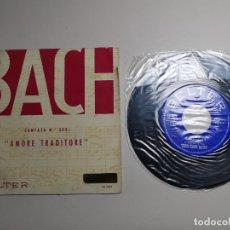 Discos de vinilo: BACH CANTATA N.203 ,AMORE TRADITORE. Lote 267883129
