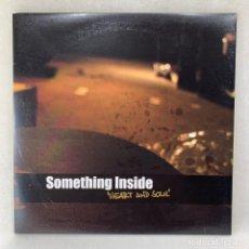 Discos de vinilo: LP - VINILO SOMETHING INSIDE- HEART & SOUL - DOBLE PORTADA + ENCARTE - ALEMANIA - AÑO 2010. Lote 267884509