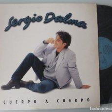 Discos de vinilo: SERGIO DALMA - CUERPO A CUERPO (LP MERCURY 1995) LLEVA EL INSERTO. Lote 267888384