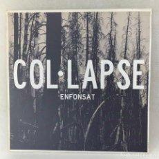 Discos de vinilo: LP - VINILO COL LAPSE- ENFONSAT + INSERT - ESPAÑA - AÑO 2013 - VINILO TRANSPARENTE. Lote 267894069