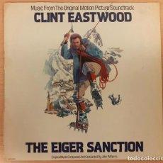 Disques de vinyle: THE EIGER SANCTION (LICENCIA PARA MATAR) JOHN WILLIAMS MCA 1975 MUY BUEN ESTADO!!!. Lote 267895869