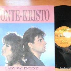 Discos de vinilo: MONTE-KRISTO LADY VALENTINE. Lote 267900544