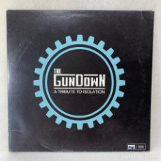 "Discos de vinilo: LP - VINILO THE GUNDOWN - A TRIBUTE TO ISOLATION - ESPAÑA - AAÑO 2011 - VINILO 10"" AZUL. Lote 267901184"