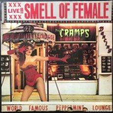 Discos de vinilo: THE CRAMPS  SMELL OF FEMALE NED 6 MINI ALBUM 1983 PRIMERA EDICIÓN UK VINILO NM, COMO NUEVO. Lote 267905529