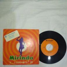 Discos de vinilo: VINILO 45 R. P. M. LOS PAYOS- DE LA COLECCIÓN MIRINDA-AÑOS 70- EN EXCELENTE ESTADO DE CONSERVACIÓN--. Lote 267982754