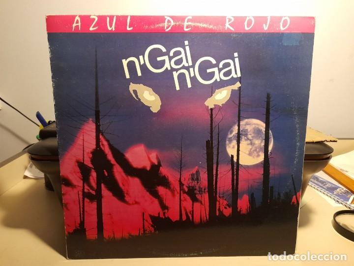 LP N´GAI N´GAI : AZUL DE ROJO (Música - Discos - LP Vinilo - Grupos Españoles de los 90 a la actualidad)