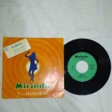 Discos de vinilo: VINILO 45 R. P. M. KARINA-AÑOS 70-DE LA COLECCIÓN MIRINDA--EN EXCELENTE ESTADO DE CONSERVACIÓN-. Lote 268024659