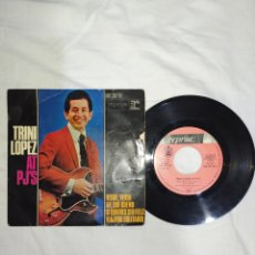 Discos de vinilo: VINILO 45 R. P. M. TRINIDAD LÓPEZ AT PJ'S-AÑOS 70-EN EXCELENTE ESTADO DE CONSERVACIÓN-. Lote 268025179