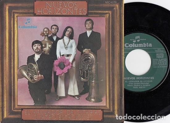NUEVOS HORIZONTES - EL AFINADOR DE CITARAS - SINGLE DE VINILO - VAINICA DOBLE # (Música - Discos - Singles Vinilo - Grupos Españoles 50 y 60)