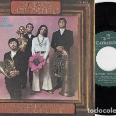 Discos de vinilo: NUEVOS HORIZONTES - EL AFINADOR DE CITARAS - SINGLE DE VINILO - VAINICA DOBLE #. Lote 268025204