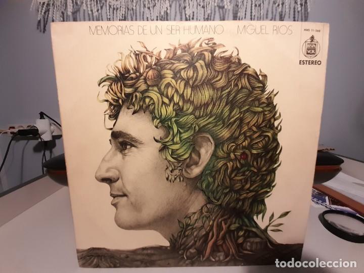 LP MIGUEL RIOS : MEMORIAS DE UN SER HUMANO (Música - Discos - LP Vinilo - Grupos y Solistas de latinoamérica)