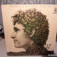 Discos de vinilo: LP MIGUEL RIOS : MEMORIAS DE UN SER HUMANO. Lote 268025389