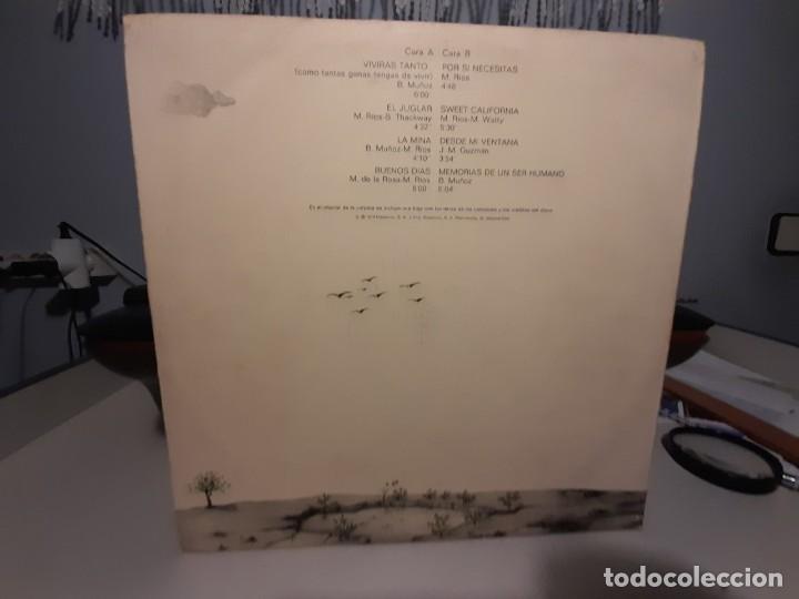 Discos de vinilo: LP MIGUEL RIOS : MEMORIAS DE UN SER HUMANO - Foto 2 - 268025389