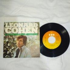 Discos de vinilo: VINILO 45 R. P. M -- LEONARD COHEN--AÑOS 60-70--EN EXCELENTE ESTADO DE CONSERVACIÓN--. Lote 268027234