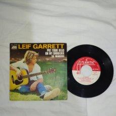 Discos de vinilo: VINILO 45 R. P. M. -- LEIF GARRETT--AÑO 1977--EN EXCELENTE ESTADO DE CONSERVACIÓN--. Lote 268027719