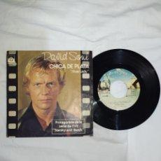 Discos de vinilo: VINILO 45 R. P. M. --DAVID SOUL-AÑO 1978- EN EXCELENTE ESTADO DE CONSERVACIÓN---. Lote 268028379