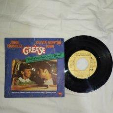 Discos de vinilo: VINILO 45 R. P. M. -- JOHN TRAVOLTA Y OLIVIA NEWTON-JOHN-- EN BUEN ESTADO DE CONSERVACIÓN- AÑO 1978-. Lote 268028899