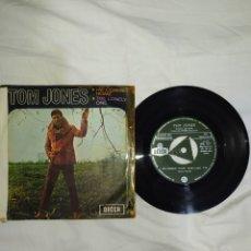 Discos de vinilo: VINILO 45 R. P. M. -- TOM JONES--AÑO 1967-- EN EXCELENTE ESTADO DE CONSERVACIÓN---. Lote 268029934