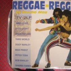 Discos de vinilo: REGGAE- REGGAE ES MUCHO MÁS- LP DOBLE.. Lote 268035714