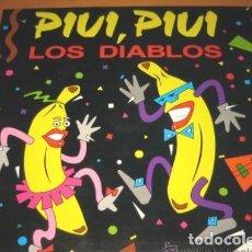 Discos de vinilo: LOS DIABLOS - PIUI, PIUI - MAXI-SINGLE OPEN RECORD SPAIN 1990. Lote 267866544