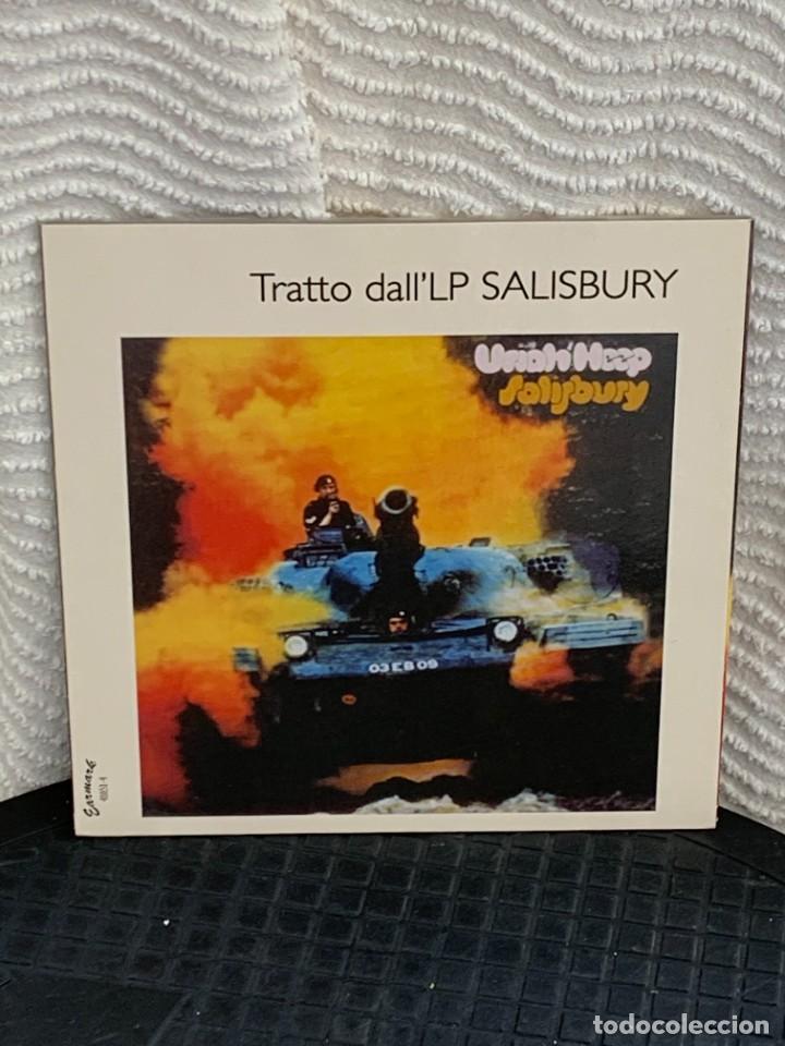 Discos de vinilo: 6 DISCOS VINILO URIA HEEP WAKE UP SINGLES COLLECTION ITALY NUEVOS 19X19CMS - Foto 11 - 268041879