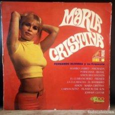 Discos de vinilo: FERNANDO OLIVIERA ORQUESTA MARIA CRISTINA - LP - 1969. Lote 268119699