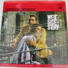 Discos de vinil: LP. WEST SIDE STORY. BANDA SONORA ORIGINAL. CBS. HISPAVOX.. Lote 268130834