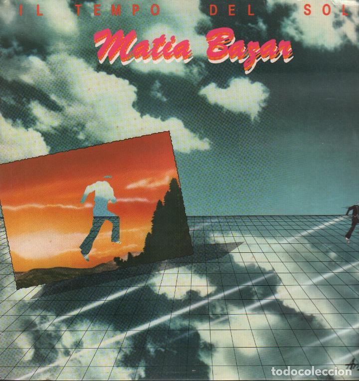 MATIA BAZAR - IL TEMPO DEL SOLE / LP ARISTON DE 1980 / BUEN ESTADO RF-9667 (Música - Discos - LP Vinilo - Canción Francesa e Italiana)