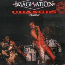 Discos de vinilo: IMAGINATION - CHANGES (CAMBIOS) / LP MOVIEPLAY DE 1983 / BUEN ESTADO RF-9674. Lote 268140969