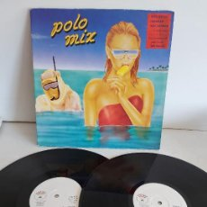 Dischi in vinile: POLO MIX / DOBLE LP - GINGER MUSIC-1986 / MBC. ***/*** + GRAN PÓSTER.. Lote 268146579