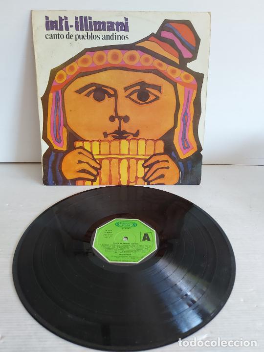 INTI-ILLIMANI / CANTO DE PUEBLOS ABDINOS / LP - MOVIE PLAY-1981 / MBC. ***/*** (Música - Discos - LP Vinilo - Grupos y Solistas de latinoamérica)