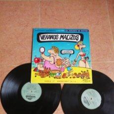 Discos de vinilo: LP DOBLE VERANOS MACIZOS, LOS DIABLOS, LOS BRINCOS FORMULA V TONY RONALD, ETC ETC. Lote 268150034
