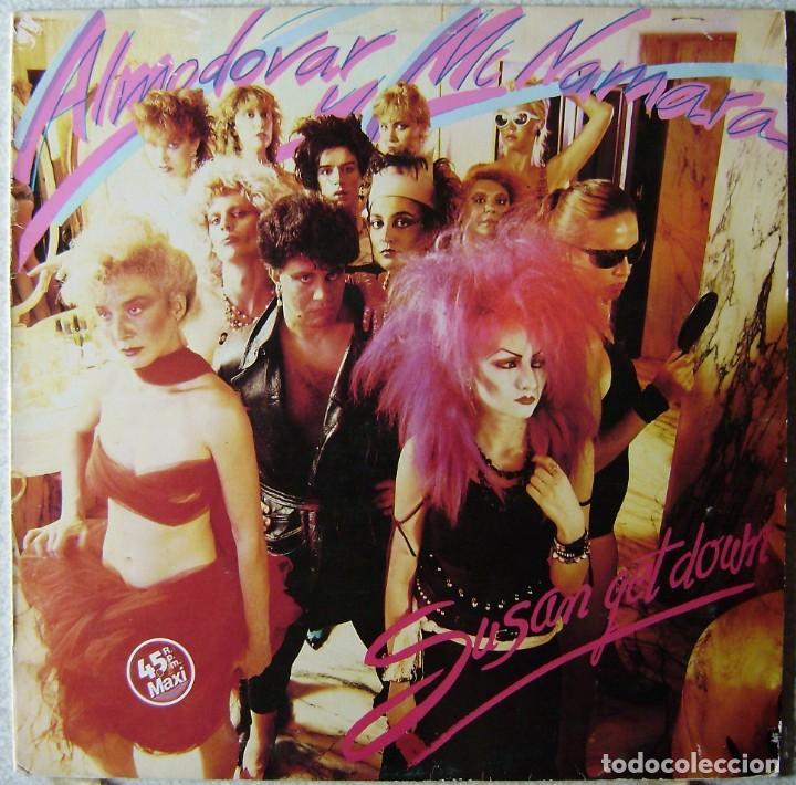 ALMODOVAR Y MCNAMARA.SUSAN GET DOWN-SAFARI.MAXI..EX...1ª EDICION 1983 (Música - Discos de Vinilo - Maxi Singles - Grupos Españoles de los 70 y 80)