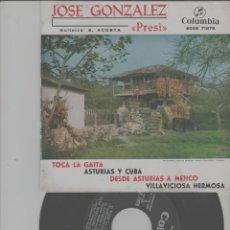 Discos de vinilo: LOTE C-DISCO VINILO SINGLE EL PRESI ASTURIAS. Lote 268153429