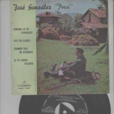 Discos de vinilo: LOTE C-DISCO VINILO SINGLE EL PRESI ASTURIAS. Lote 268154334