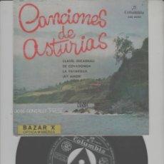 Discos de vinilo: LOTE C-DISCO VINILO SINGLE EL PRESI ASTURIAS. Lote 268154529