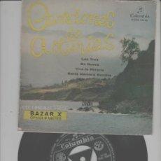 Discos de vinilo: LOTE C-DISCO VINILO SINGLE EL PRESI ASTURIAS. Lote 268155179