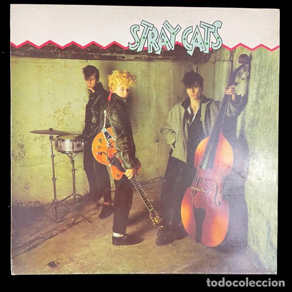 STRAY CATS-STRAY CATS-DISCO-VINILO-ARISTA RECORDS-5B 203295-1981 (Música - Discos - LP Vinilo - Rock & Roll)