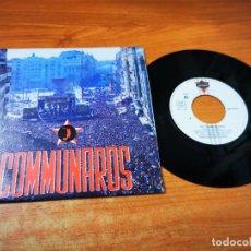 Discos de vinilo: THE COMMUNARDS T.M.T.L.T.B.M.G. SINGLE VINILO PROMO ESPAÑA DEL AÑO 1987 CONTIENE 2 TEMAS. Lote 268155699