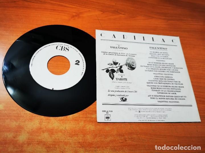 Discos de vinilo: CADILLAC Valentino EUROVISION 86 SINGLE VINILO PROMO DEL AÑO 1986 CONTIENE 1 TEMA MUY RARO - Foto 2 - 268155894