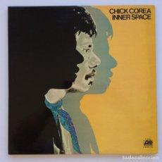 Discos de vinilo: CHICK COREA – INNER SPACE 2 VINYLS JAPAN,1973 ATLANTIC. Lote 268156074