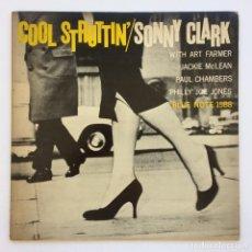 Discos de vinilo: SONNY CLARK – COOL STRUTTIN' JAPAN,1978 BLUE NOTE. Lote 268163094