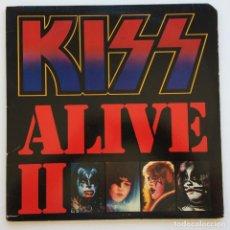 Discos de vinilo: KISS – ALIVE II 2 VINYLS USA CASABLANCA. Lote 268164884